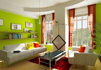 salas con mucho color