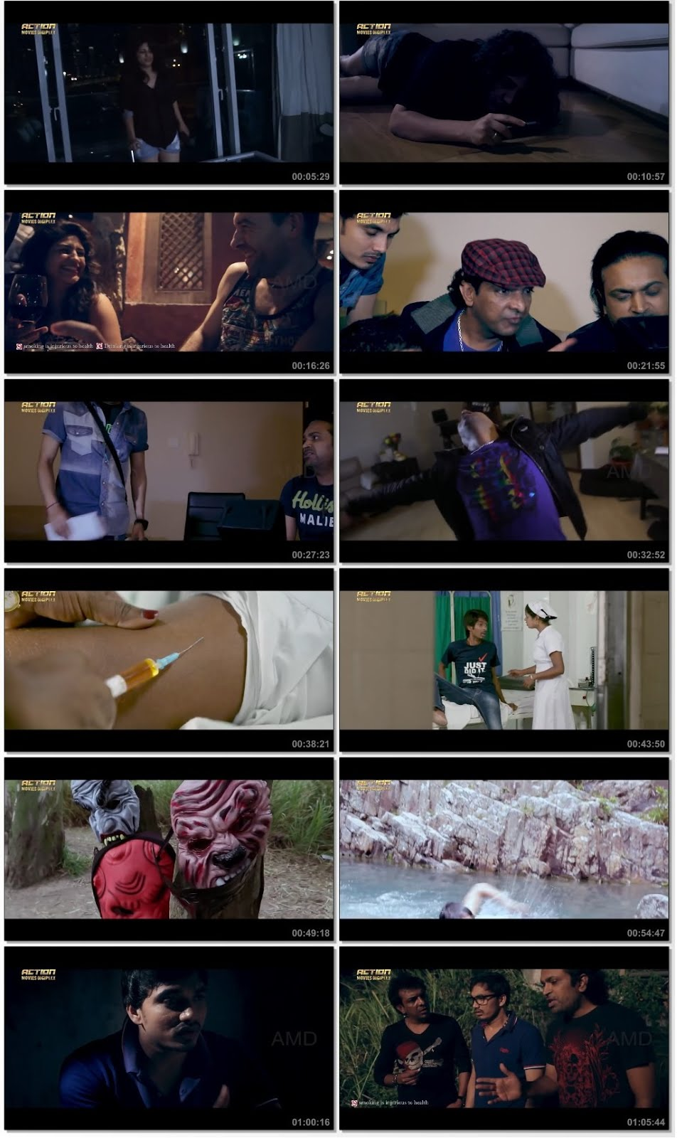 Screen Shot Of Darna Mana Hai 2 2018 300MB Full Movie Hindi Dubbed Free Download 480P HDRip Small Size PC Movie