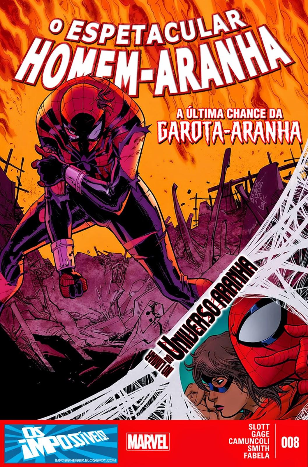 O Espetacular Homem-Aranha #8