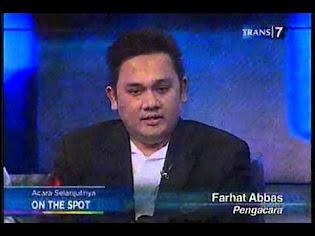 Farhat Abbas di Hitam Putih Trans 7