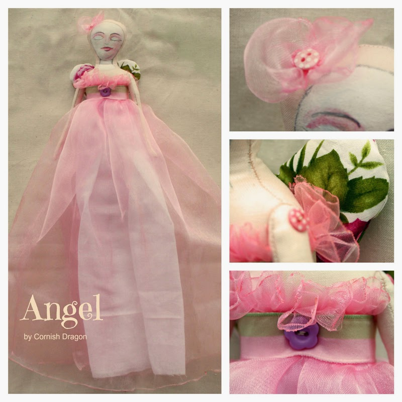 Cloth Art Angel Doll