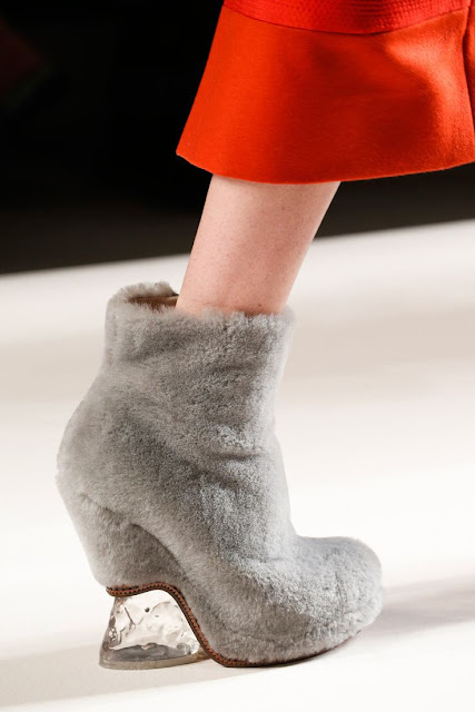 Fendi Furry Shoes