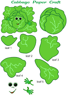 cabbage paper craft