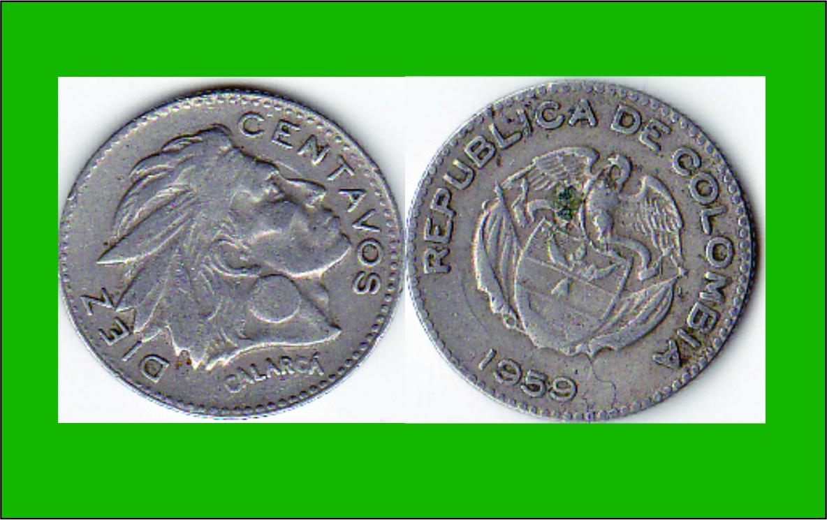 Moneda de Diez Centavos Moneda de Diez(10 Centavos
