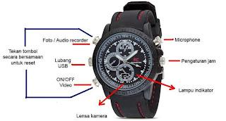 Spy Cam Sport Watch / Jam Tangan Kamera Sport 4 GB1