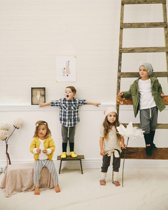 Cool, organic and handmade kids fashion by Kindred OAK for AW14