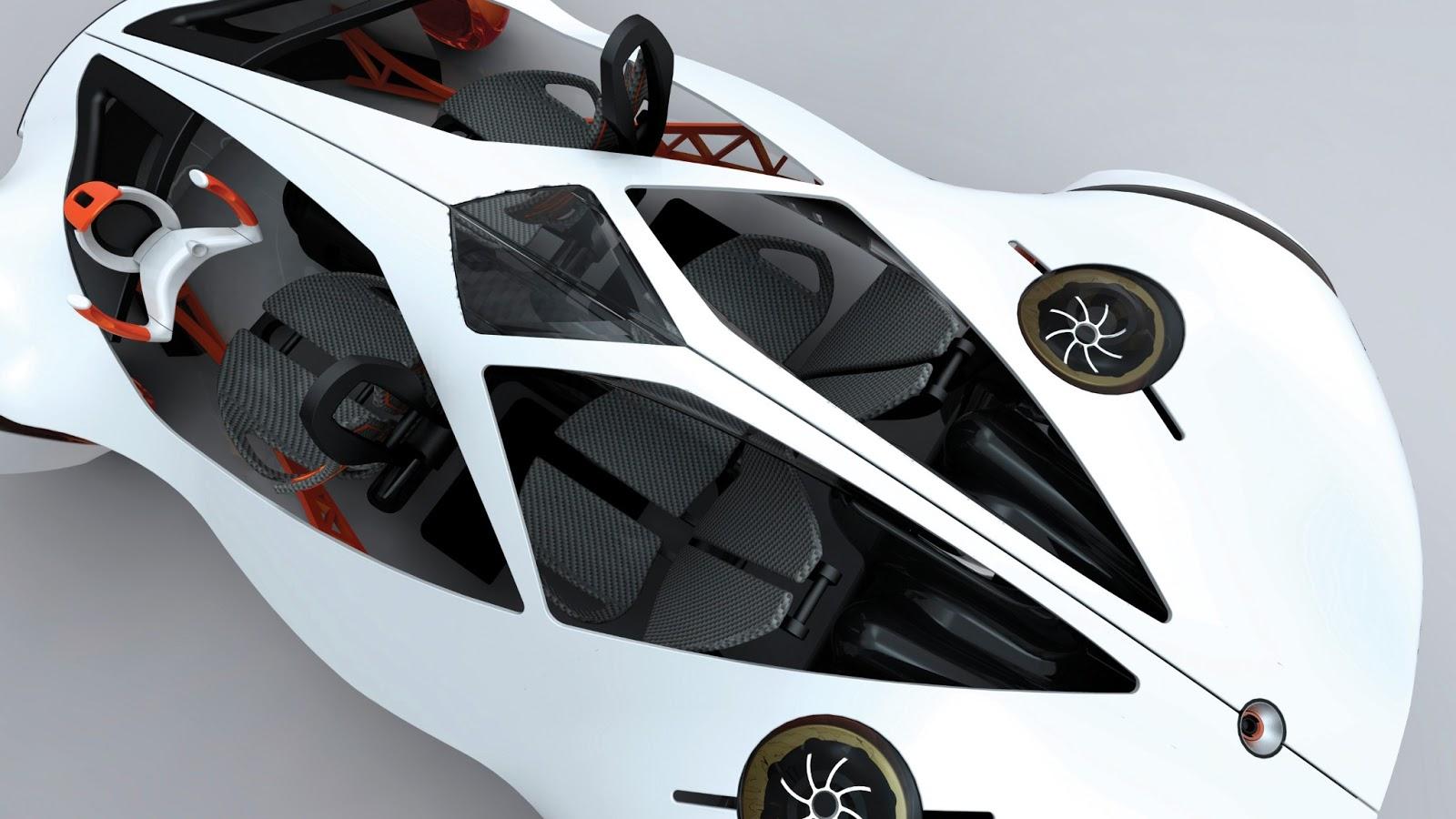 Honda flying car concept