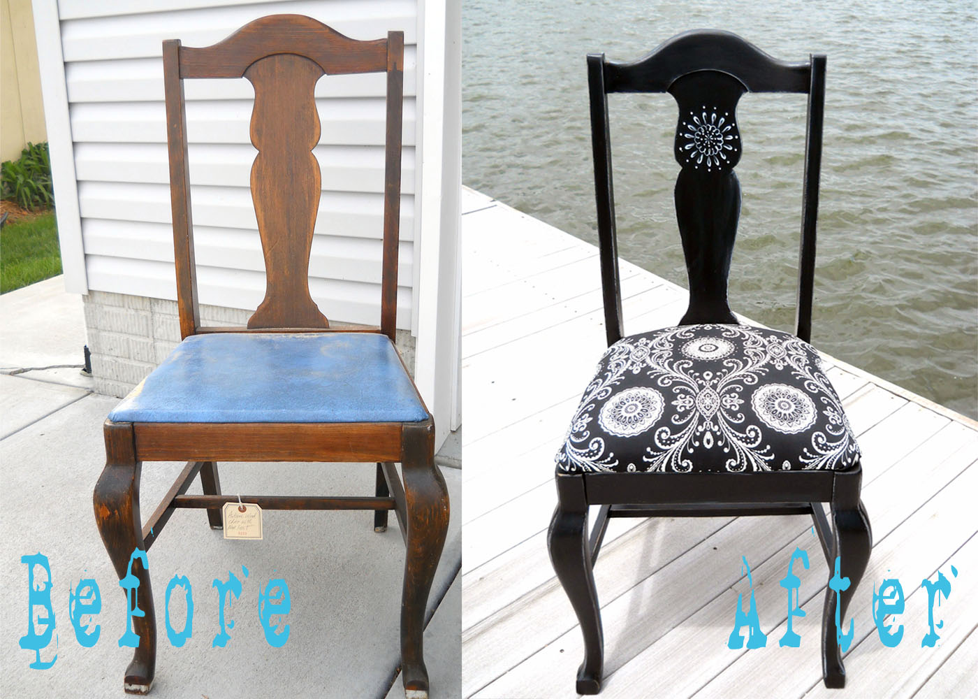 Как украсить старые кресла своими руками