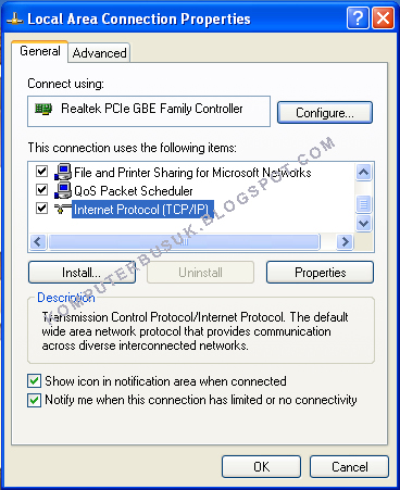 how to change ip address on asus laptop