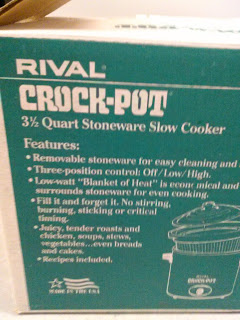 Vintage Crock-Pot by Rival box.