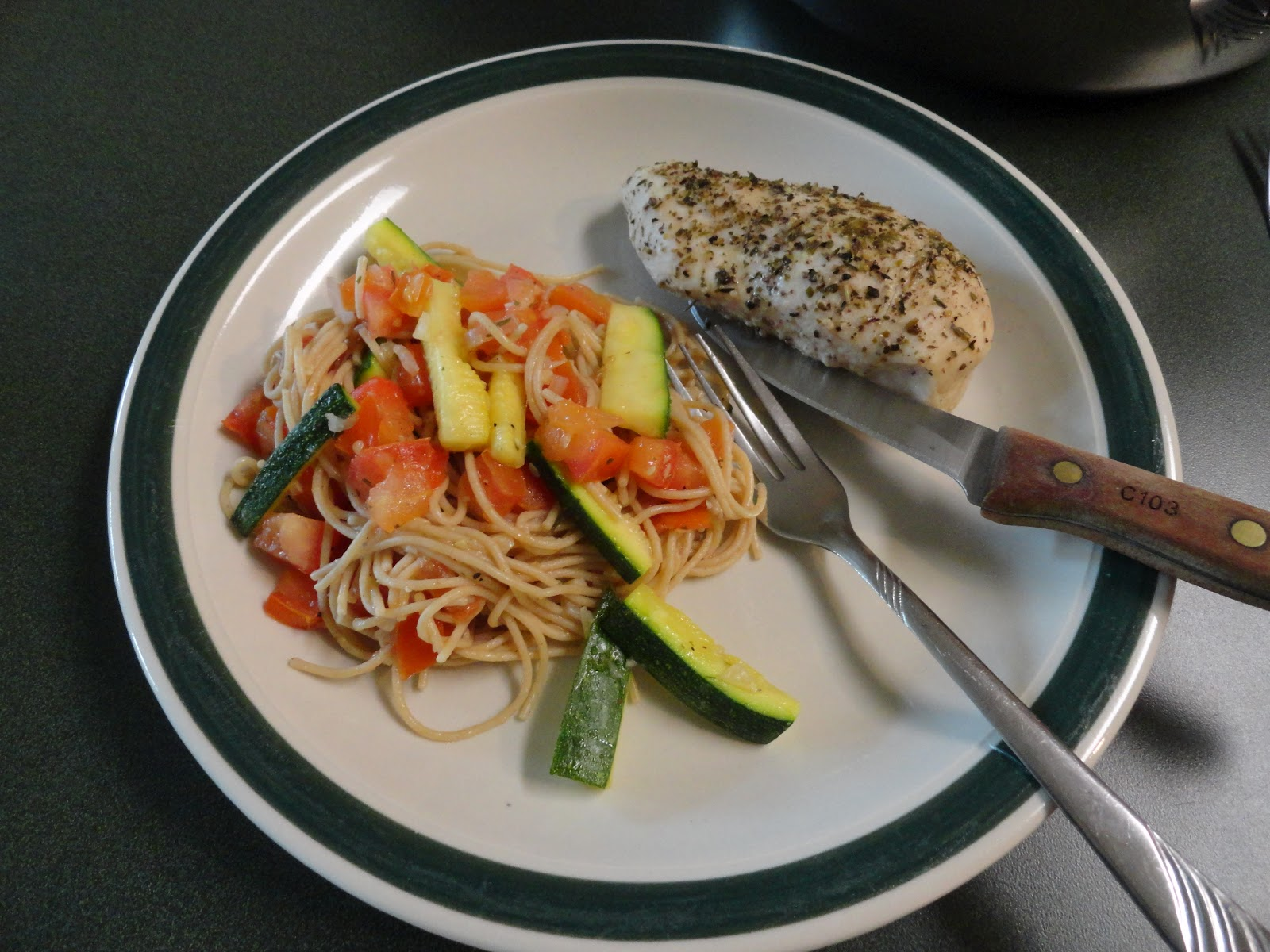 seriously hope: Food for Thought: Angel Hair with Zucchini ...