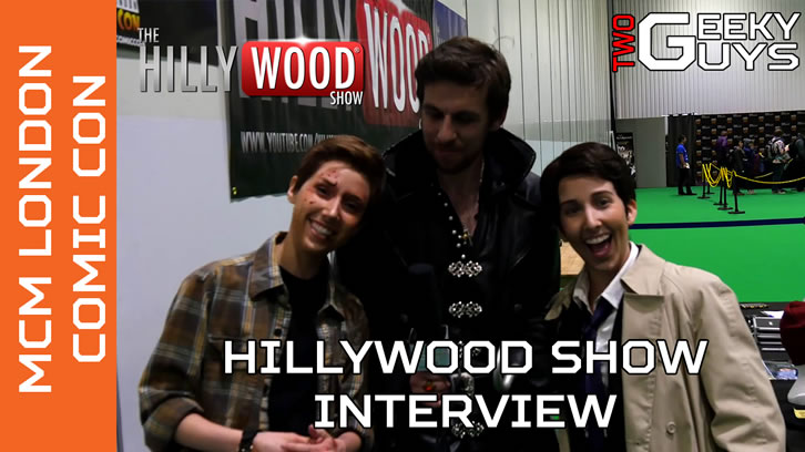 The Hillywood Show - Supernatural, Doctor Who and Walking Dead Parodies Interview [VIDEO]