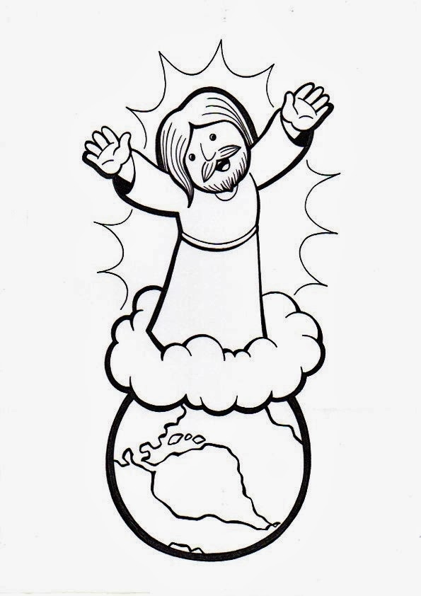 Mount Of Olives Coloring Pages