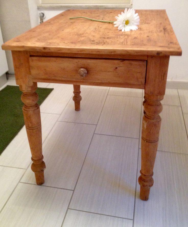 Chiccacasa: recupero tavolo dimenticato (la mia isola felice)