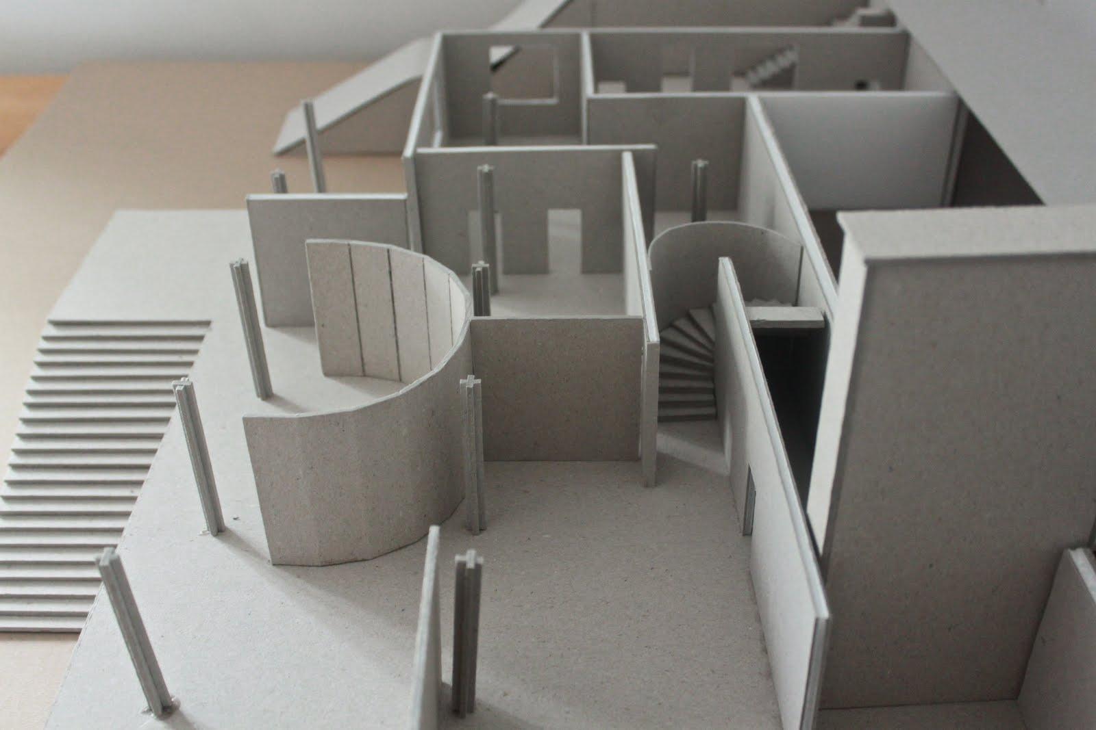 Tugendhat House Model