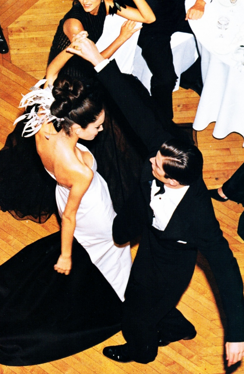 Having a ball / Vogue US December 1997 (photography: Steven Meisel) via fashioned by love / british fashion blog