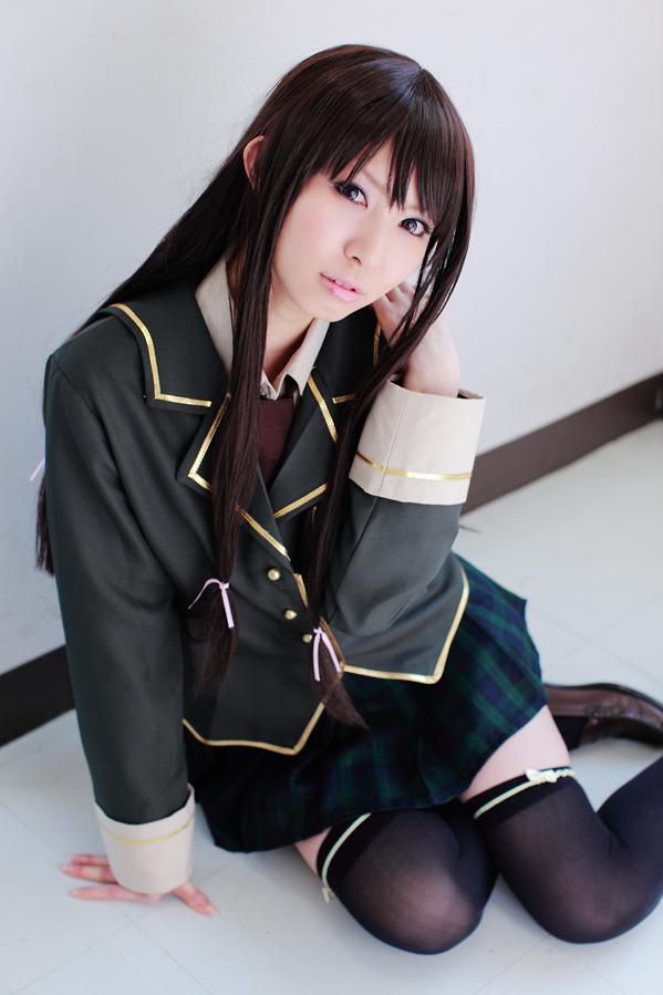 CosRain.Com Rinami's COSPLAY - Yozora Mikazuki