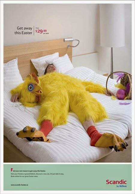 Easter Print Advertising Hilton Scandic