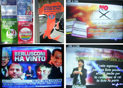 Campaña electoral Italia 2008