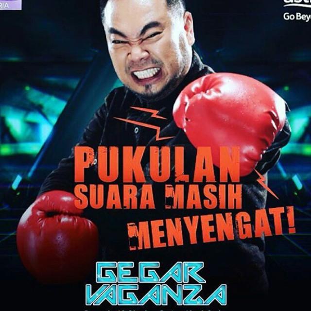 Video Konsert Gegar Vaganza 2015 Minggu 5 Acong – Memburu Rindu (Dato' Hattan)