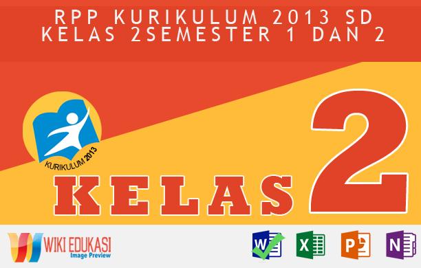 RPP KURIKULUM 2013 SD KELAS 2 SEMESTER 2 - Keselamatan di Rumah danPerjalananHasil Revisi Terbaru
