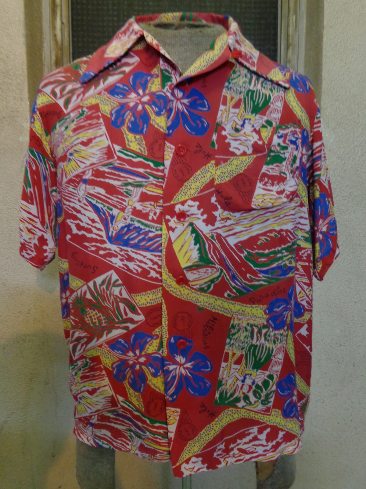 50's 「CALIFORNIA」 HAWAIIAN SHIRTS