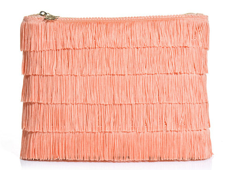 Charlotte Olympia Pink Shake It Clutch Bag