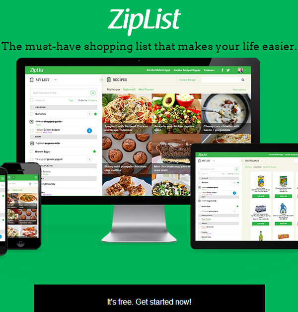 Life Tastes Good is now partnering with Ziplist to make your life easier! #Ziplist #LifeTastesGood