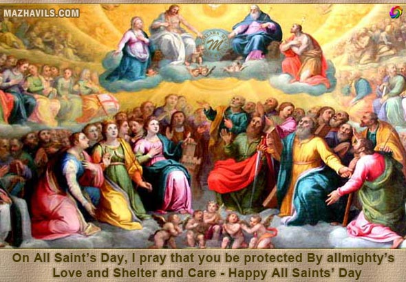 October 2012 mazhavils greetings on all saints day i pray that you be protected by allmightys m4hsunfo
