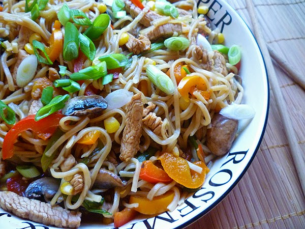Turkey Chow Mein Recipe