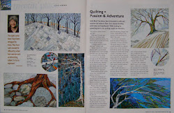 My interview in the June/July 2012 issue of Quilters Newsletter
