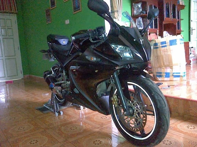 Modifikasi Yamaha Vixion Ala R125 2013