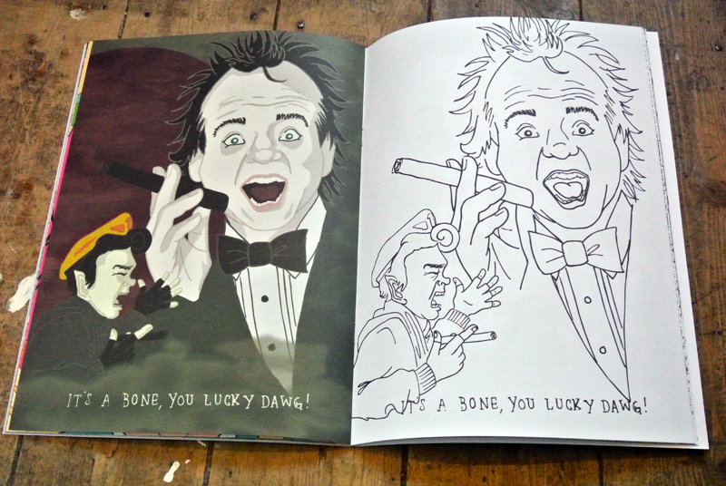 thrill murray - Bill Murray Coloring Book