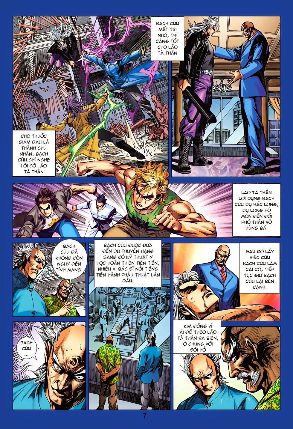 Tân Tác Long Hổ Môn chap 708 - Trang 8