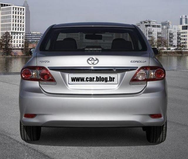 Toyota Corolla 2012 - traseira