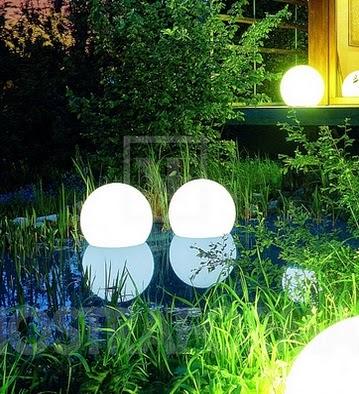 Tips Memperindah Taman Dengan Lampu Hias