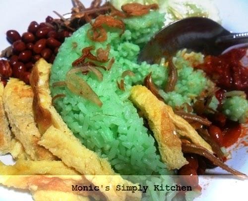 resep nasi lemak dengan rice cooker