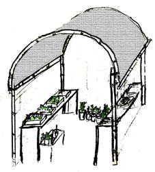 Construcci n vivero for Materiales para la construccion de un vivero