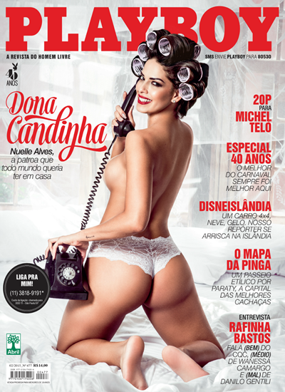 Download Playboy Nuelle Alves Fevereiro 2015