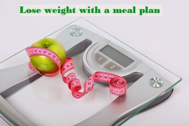 Lose weight with a meal plan