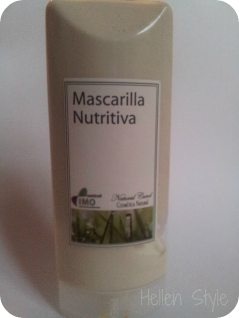 Mascarilla facial nutrititiva Natural Carol