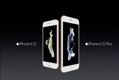 The new apple iphone 6S and iphone 6S plus