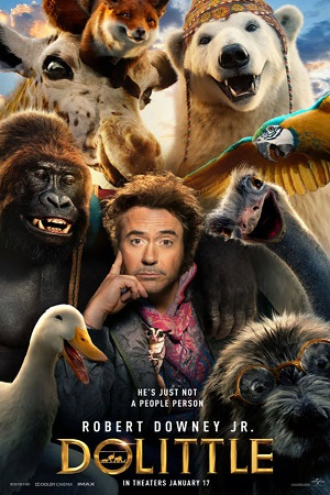 Dolittle (2020) Full Movie Complete [Hindi+English] Download 480p