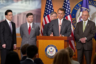 John Boehner and Republican leadership