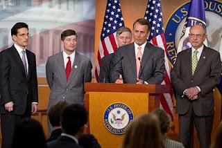 John Boehner and Republican leadership