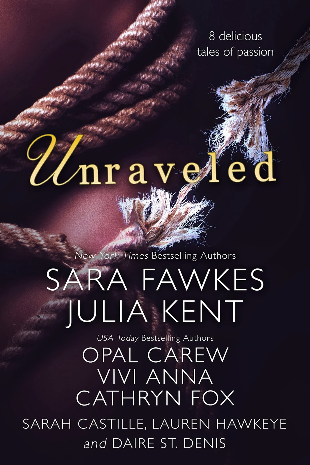 fangtastic books  unraveled   8 delicious tales of passion