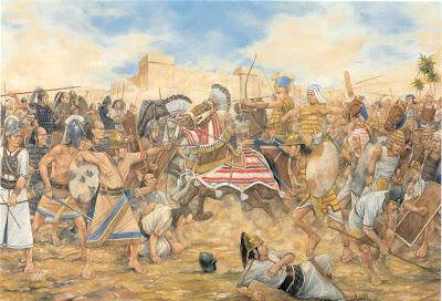 Perang yang terawal di dunia - Perang Megiddo