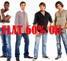 Flat 60% Off on US POLO, WRANGLER, UCB, LEE & more @ Flipkart (Limited Period Offer)