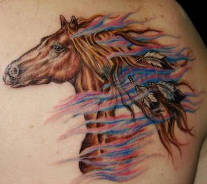 tattoos design horse tattoo