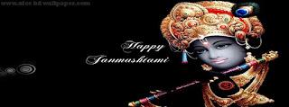 Krishna janmashtami 2015 facebook cover